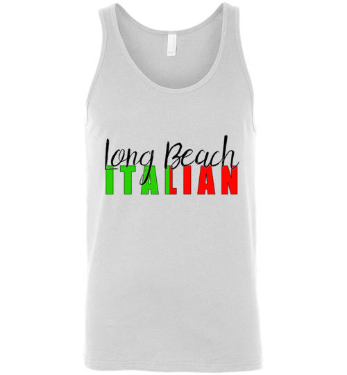 Long Beach Italian - Unisex Tank Top - Ciao Bella Ltd T-Shirts