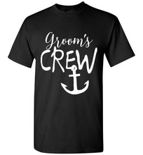 Groom's Crew Unique Tee Shirts and Tank Tops - Ciao Bella Ltd T-Shirts