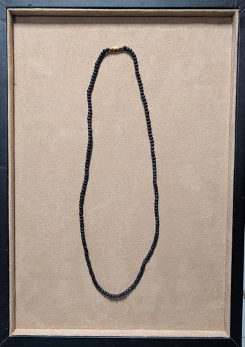 Tulsi necklace black