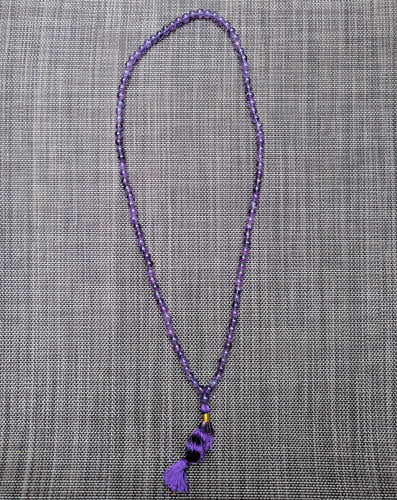 Amethyst 108 bead unknotted