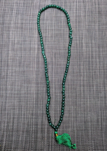 Aventurine 108 bead on unknotted string