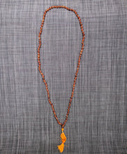 Citrine 108 bead knotted