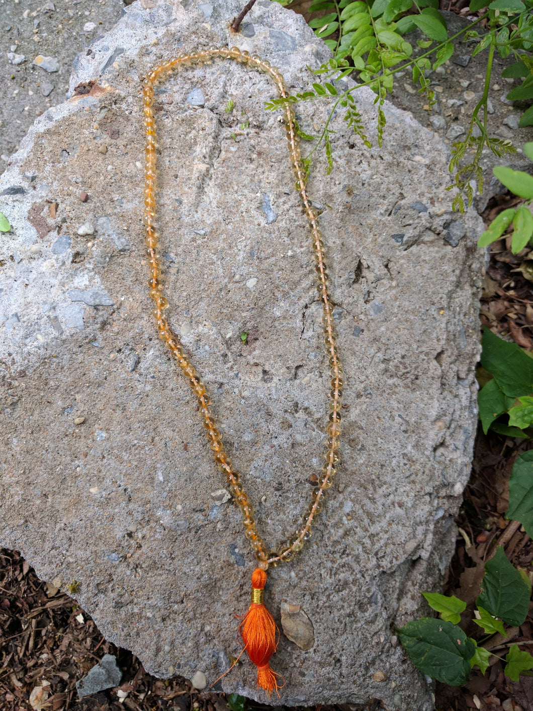 Citrine 108 bead unknotted