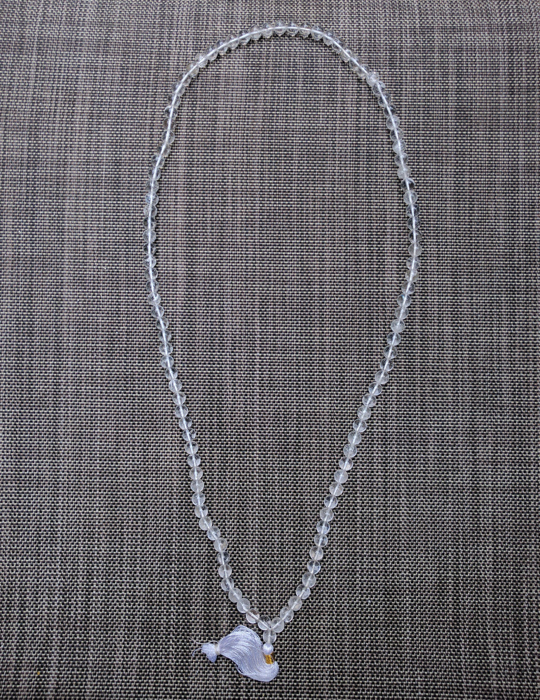 Crystal 108 bead unknotted