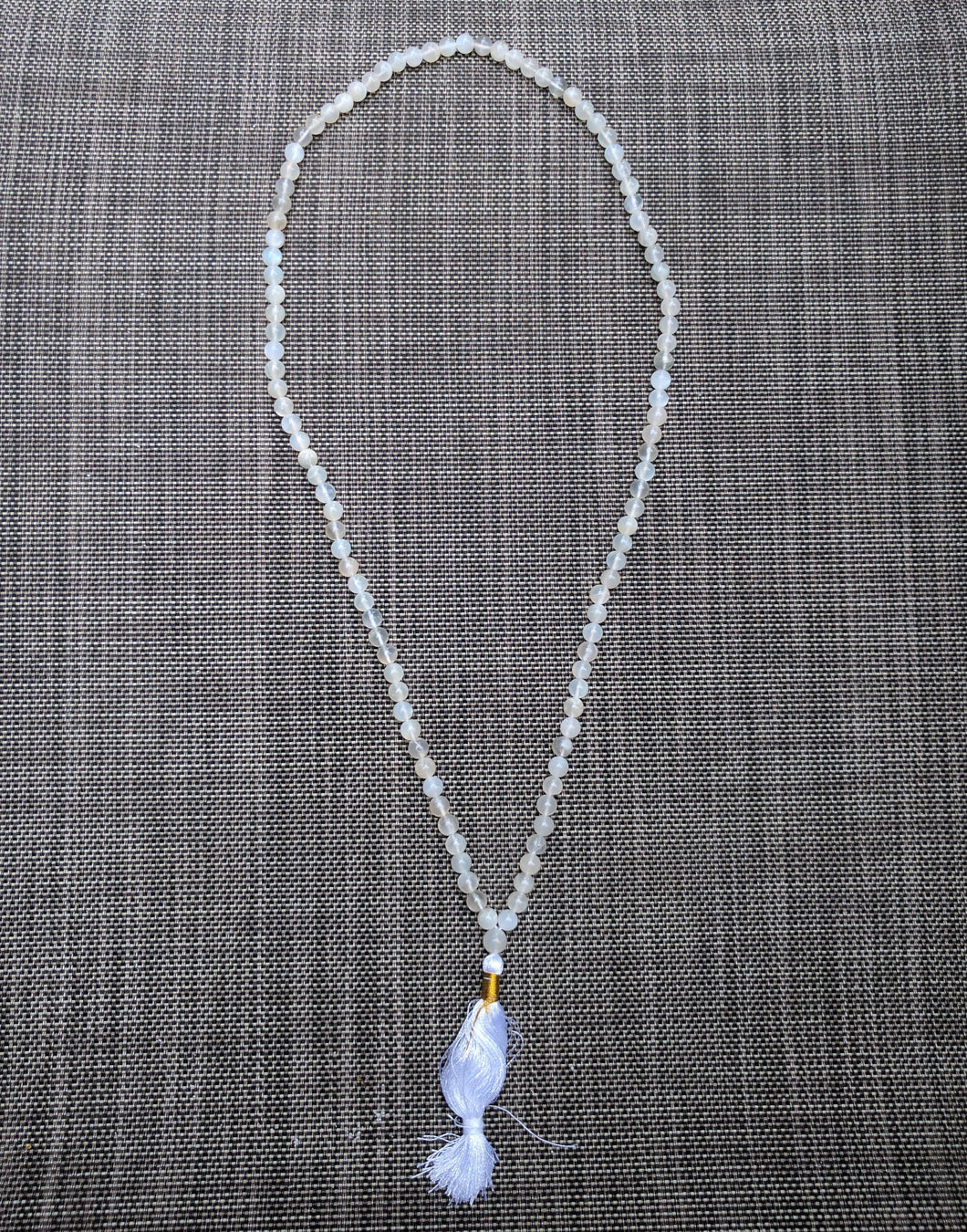 Moonstone 108 bead unknotted