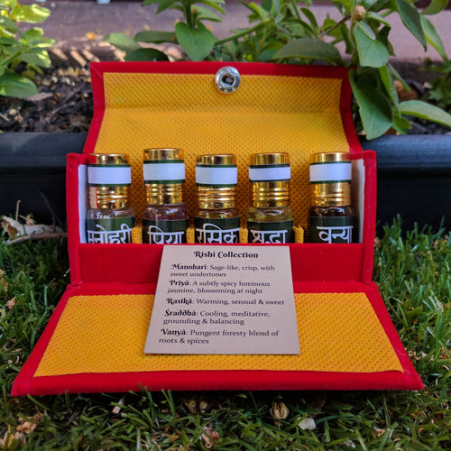 Attar: Essential Oil Perfume Gift Packs