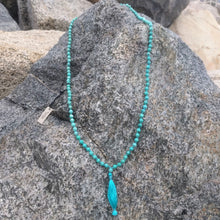 Turquoise 108 bead knotted