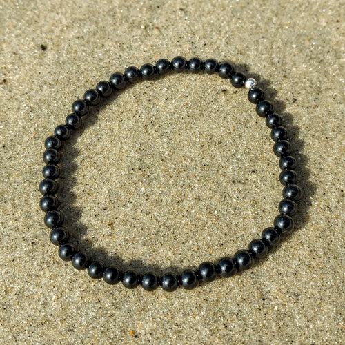 Black Tourmaline Bracelets (4mm)