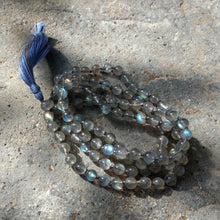 Labradorite 108 knotted