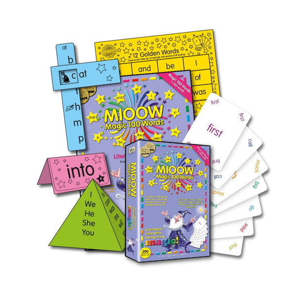 Magic 100 Words Literacy Resource Manual - New Edn