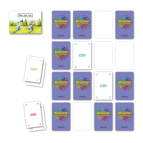 Classroom Games Pack - 100, 200 & 300 Words