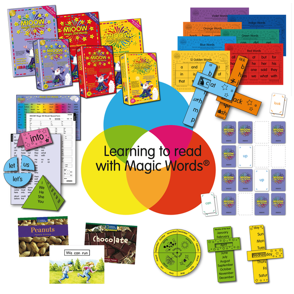 Magic 100 Words Literacy Resource Manual