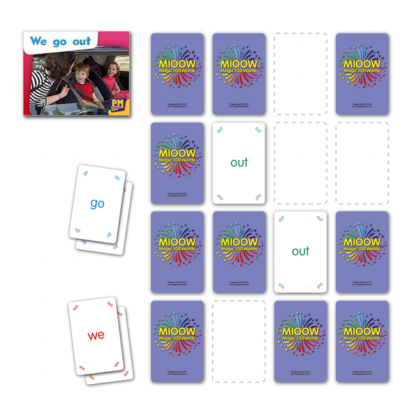Home Schooling Cards Pack - 100, 200 & 300 Words