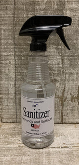 Sanitzers- Hand & Surface, Alcohol-free - Mission Essentials