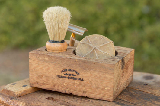 Reclaimed Vintage Wood Shave Vessel - Mission Essentials