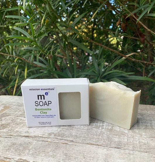 Handcrafted Soaps- Bentonite Clay - Buy 4 and save! - Mission Essentials