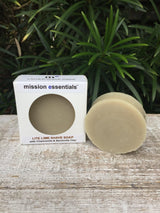 Handcrafted Soaps- Lite-Lime Shave Soap - Buy 4 and save! - Mission Essentials
