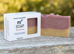 Handcrafted Soaps- Rose Berry - Buy 4 and save! - Mission Essentials