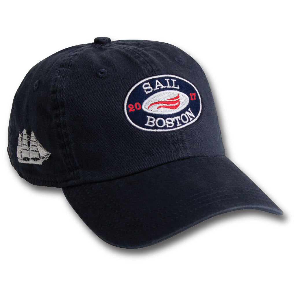 The Windward Vintage Adjustable Hat - Navy