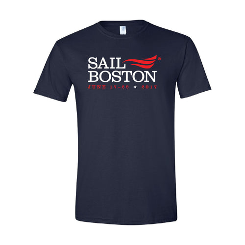 Classic Sail Boston 2017 T-Shirt - Navy