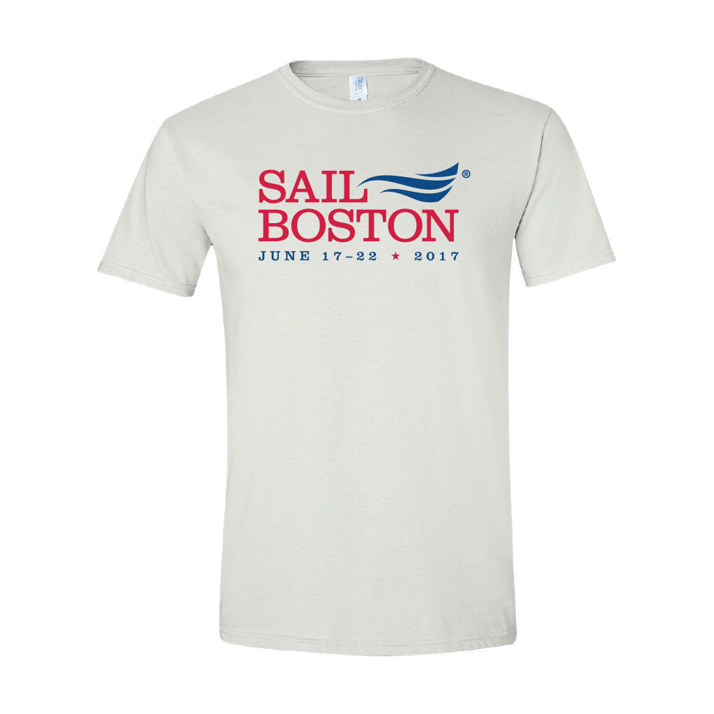 Classic Sail Boston 2017 T-Shirt - White
