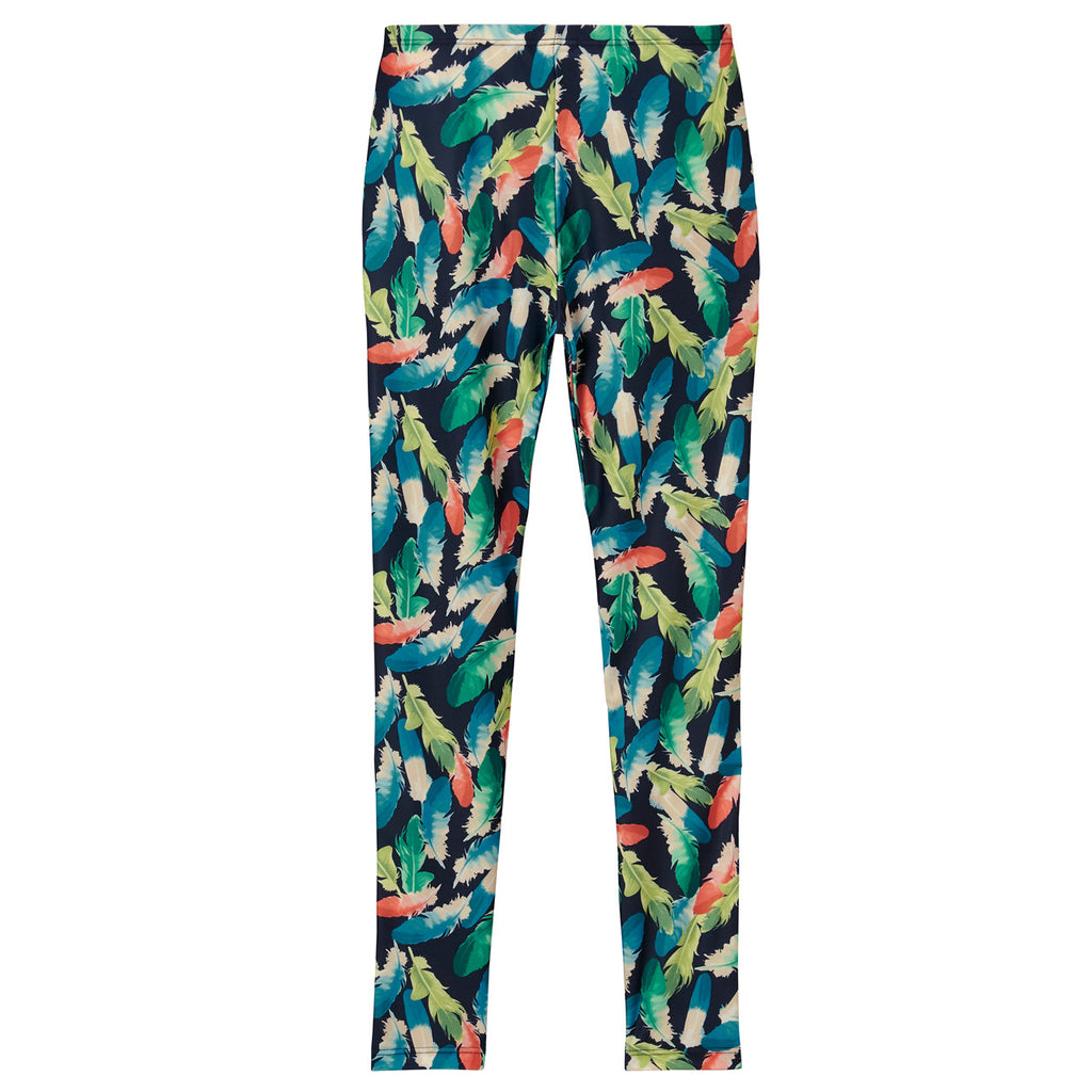 <NEW>Spunkee Feather Leggings - Navy