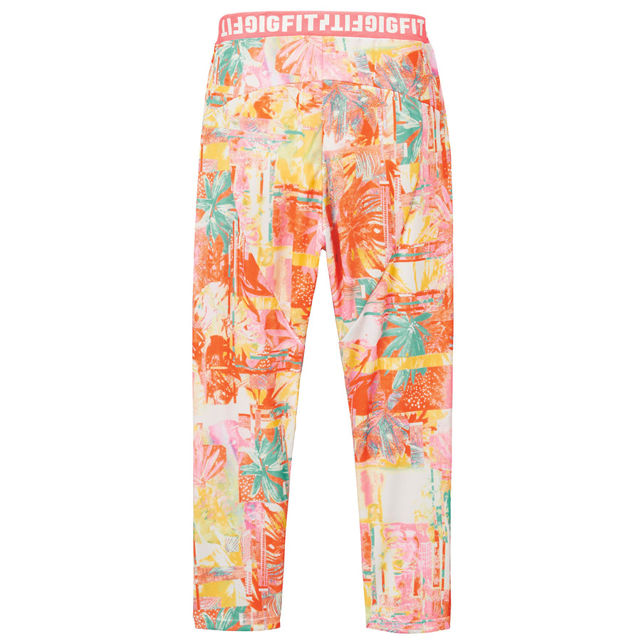 Aloha Tapered Long Pants - Orange