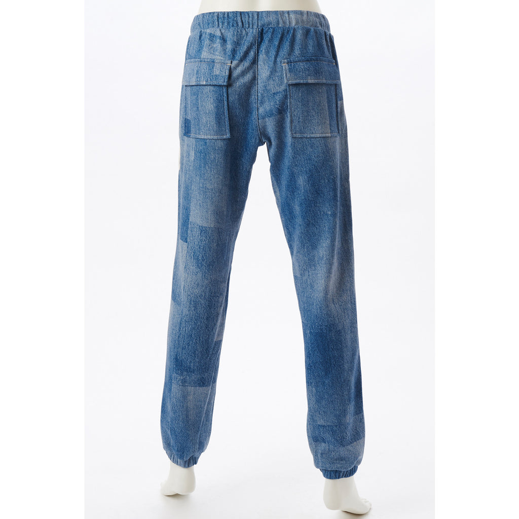 Dry Sweat Long Pants - Denim Blue - bodyartwebstore
