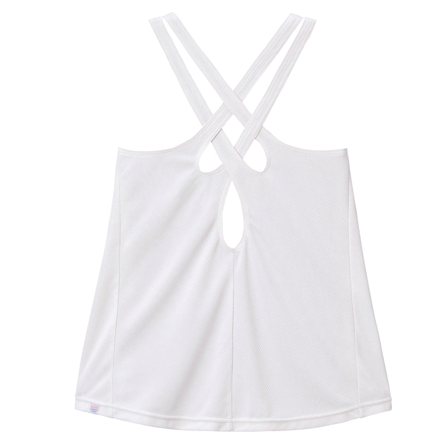 <NEW>Strappy Tank Top - Light Gray