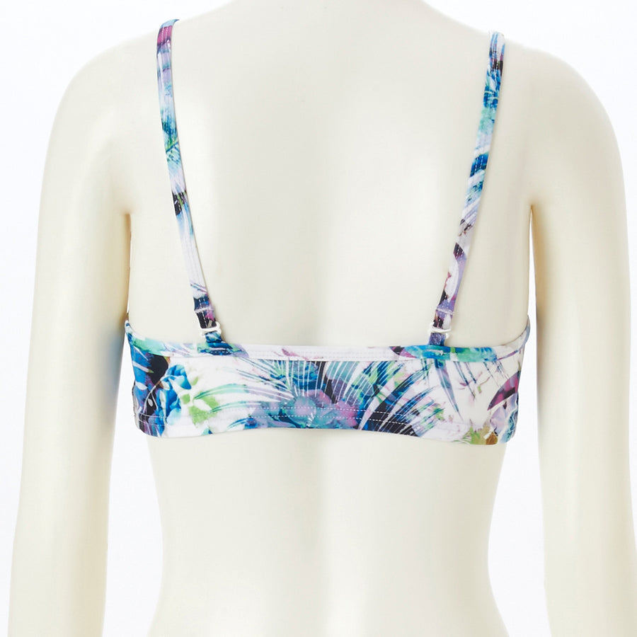 <NEW>Spunkee Botanical Sports Bra - Blue