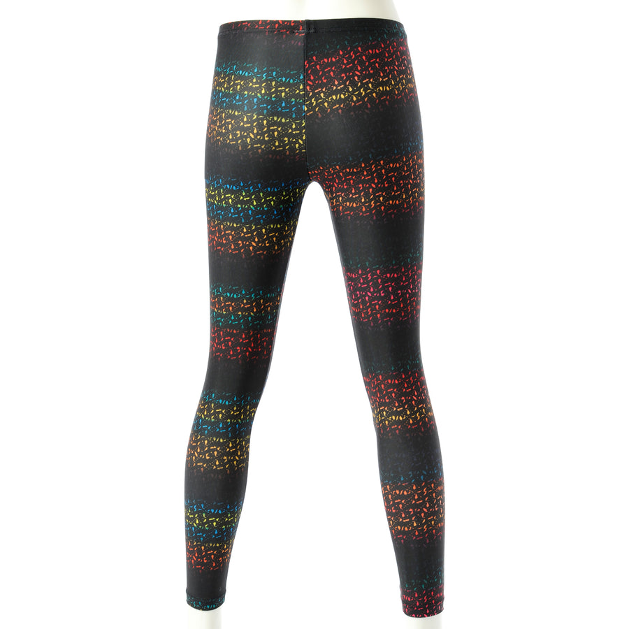 Spunkee Block Graphic Leggings - Multi