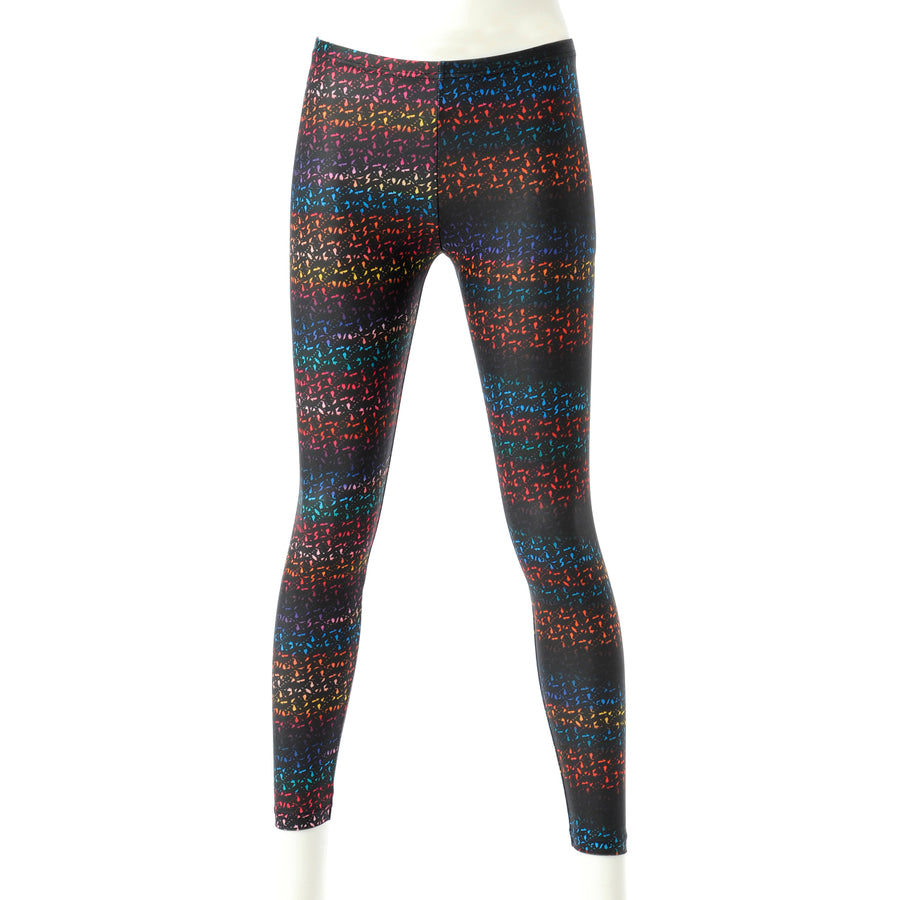 <NEW>Spunkee Block Graphic Leggings - Multi