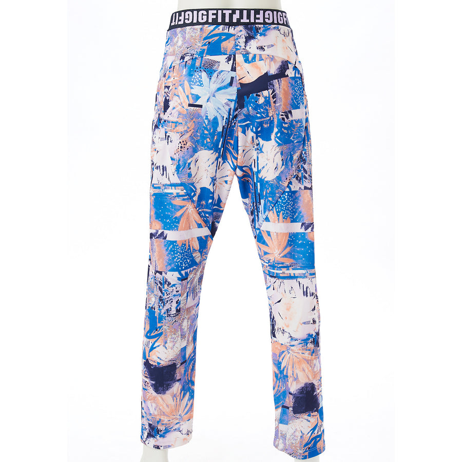 Aloha Tapered Long Pants - Blue