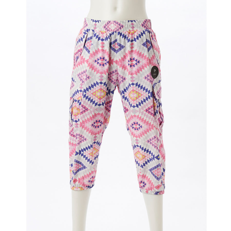 Airpants ZERO - Native Cargo Capri - Pink - bodyartwebstore