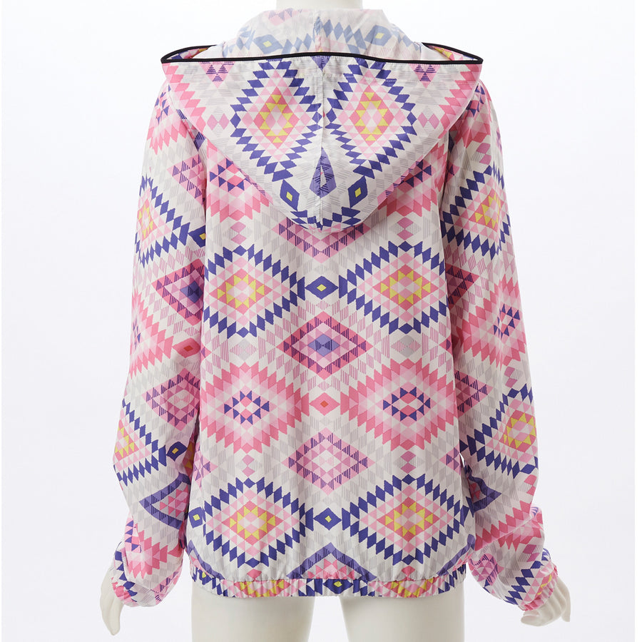 Airpants ZERO - Native Zip Up Hoodie - Pink - bodyartwebstore