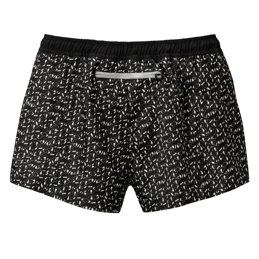 <NEW>G-FLX Shorts - Black + White