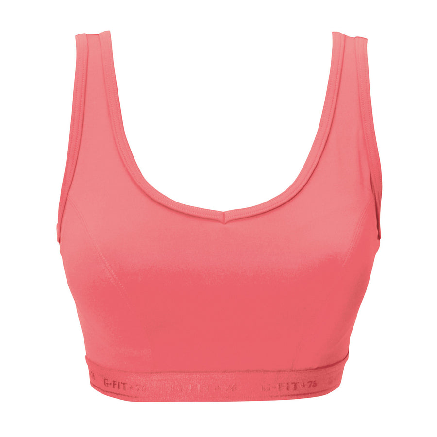 High Impact Sports Bra - Hot Pink - bodyartwebstore