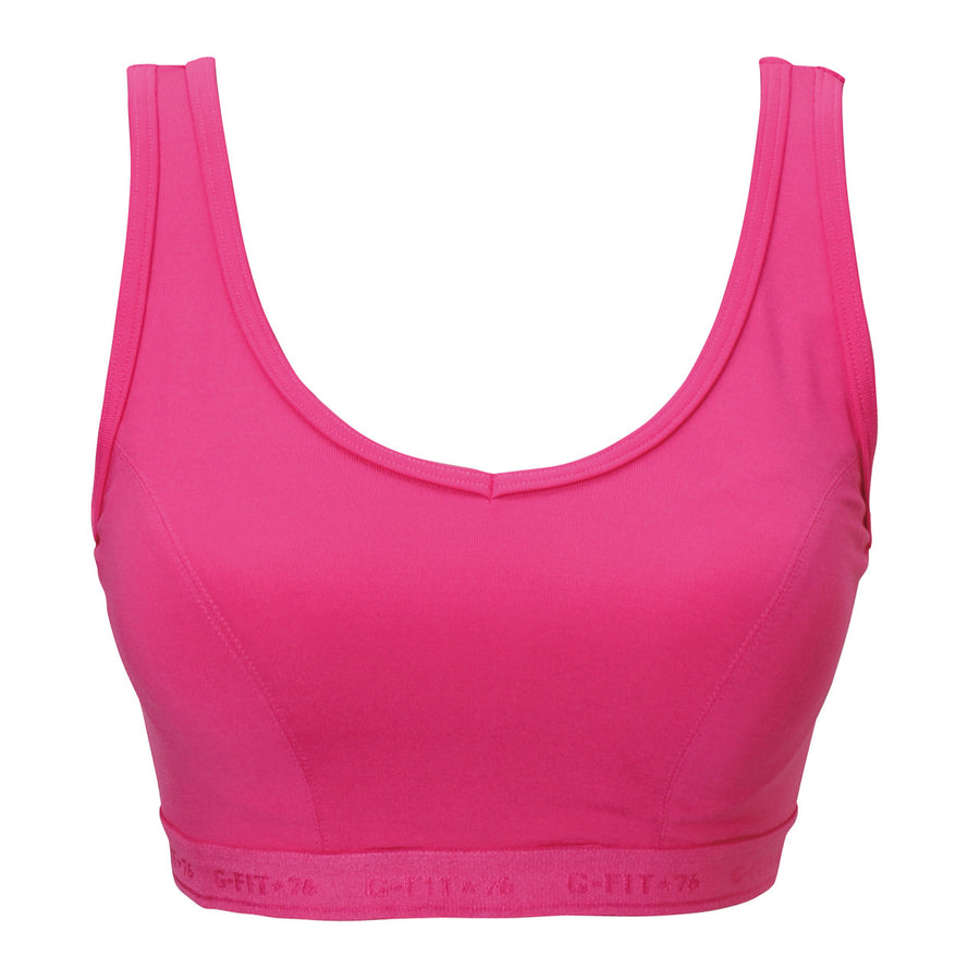 High Impact Sports Bra - Magenta Pink - bodyartwebstore