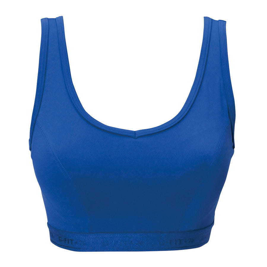 High Impact Sports Bra - Royal Blue - bodyartwebstore