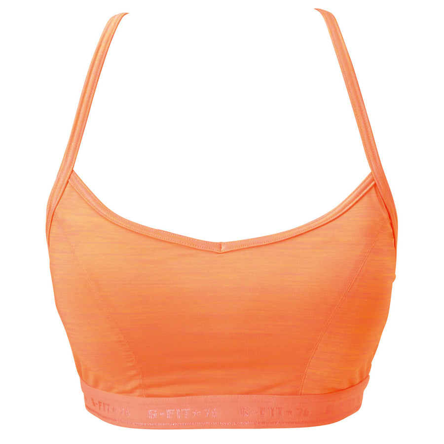 Glosry - Silky Bra - Orange - bodyartwebstore