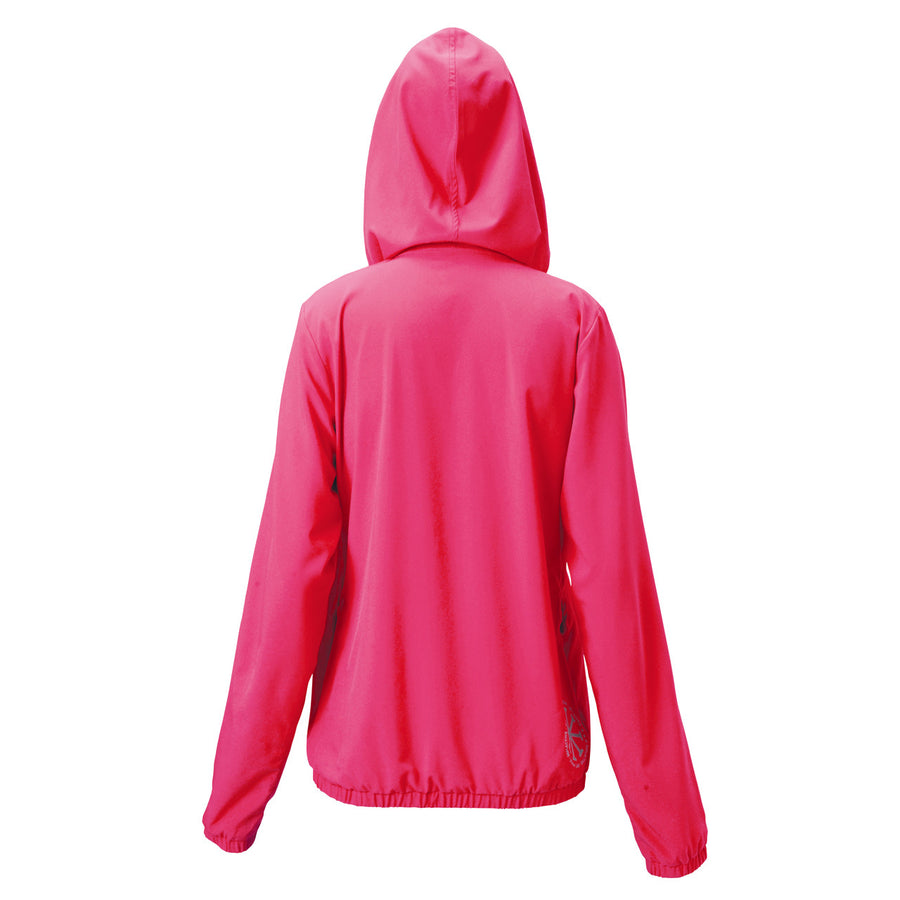 Ultra Light Hooded Zip Air Jacket - Magenta Pink - bodyartwebstore