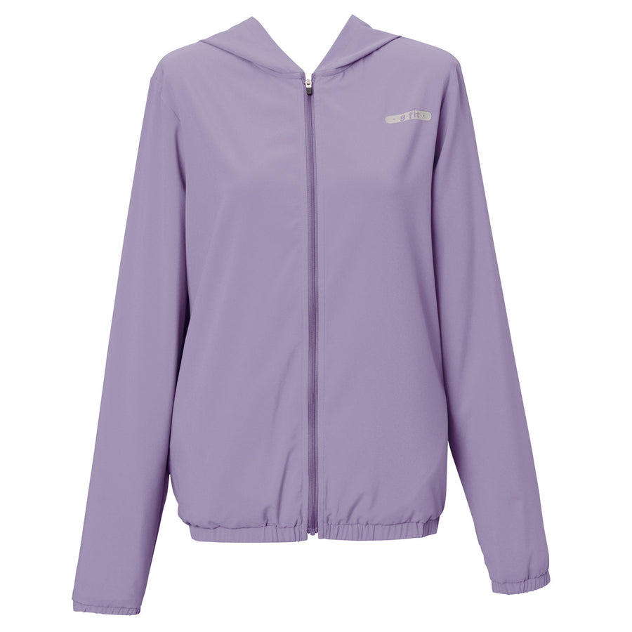 Ultra Light Hooded Zip Air Jacket - Lavender - bodyartwebstore