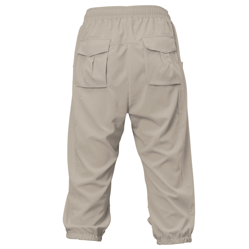 Airpants Zero - Ultra Light Drop Crotch Pants - Grey - bodyartwebstore