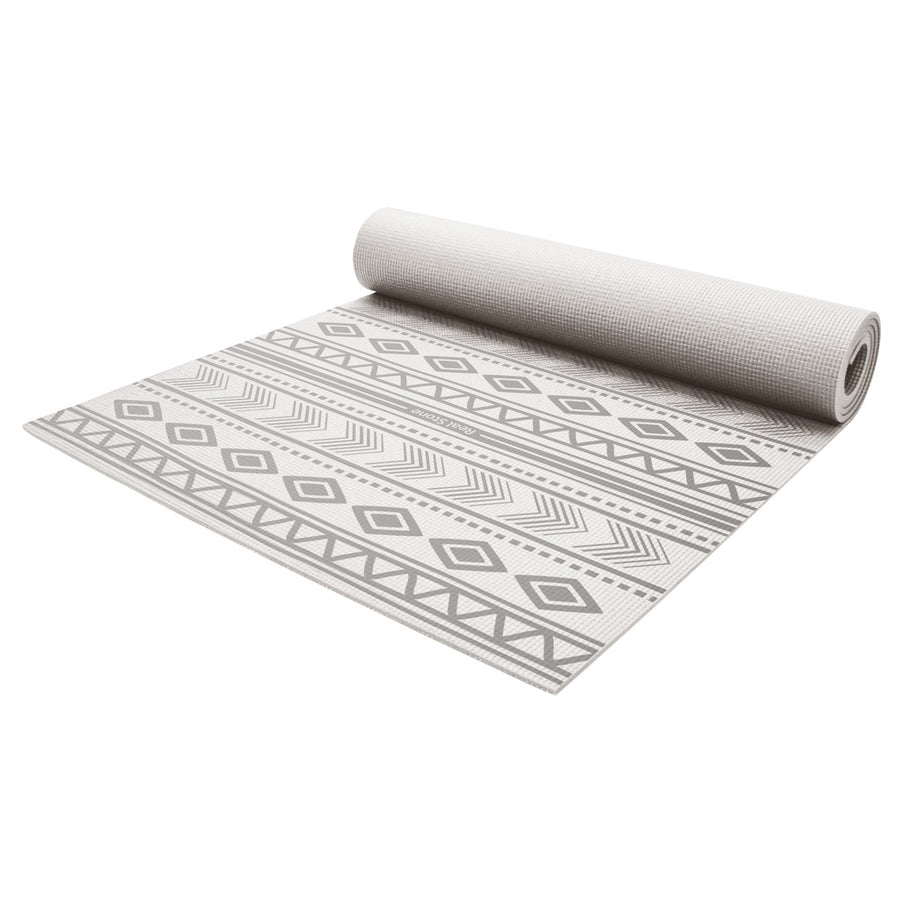 Native Yoga Mat - Silver Grey - bodyartwebstore