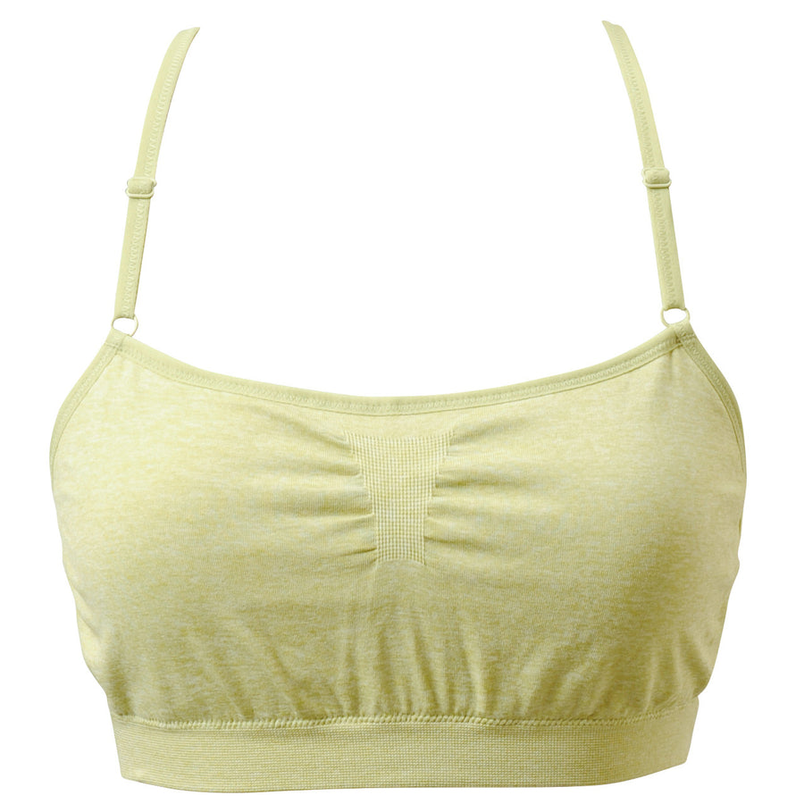 Nadie - Seamless Bra - Light Green - bodyartwebstore