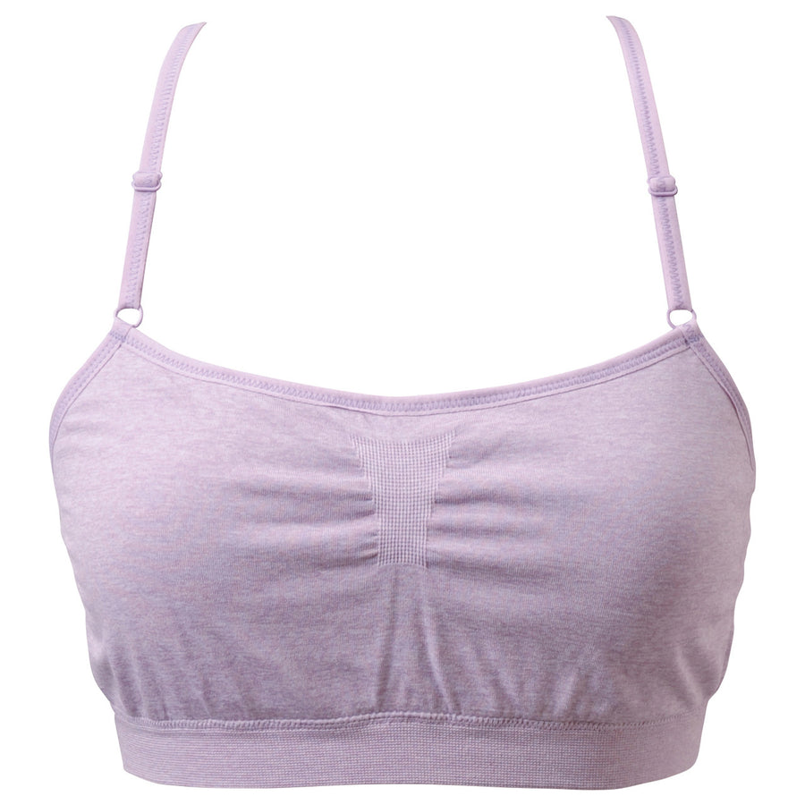 Nadie - Seamless Bra - Light Purple - bodyartwebstore