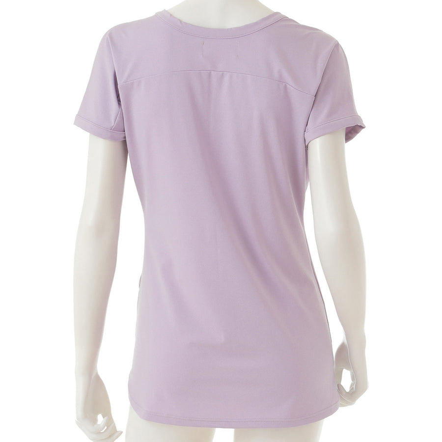 <NEW>Heather Patel Yoga T-shirt - Light Purple