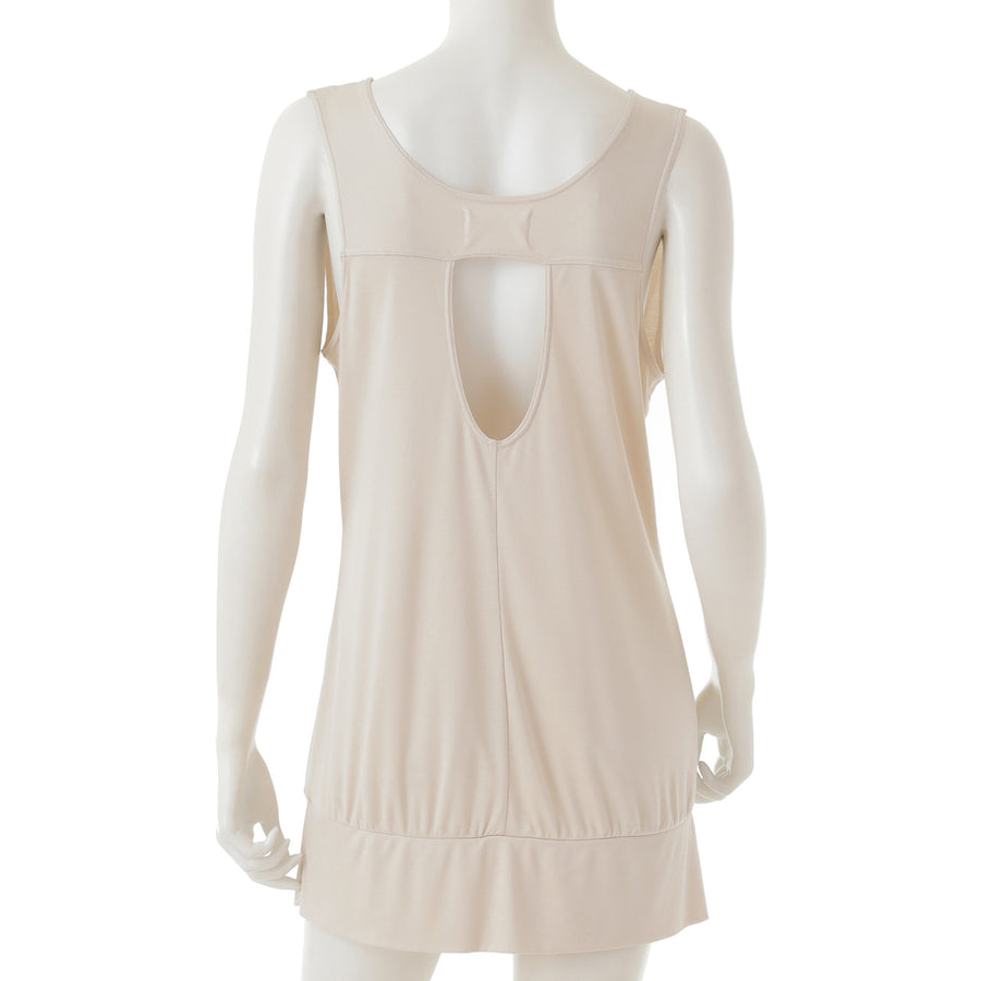 <NEW>Micro Modal Yoga Tank - Light Beige
