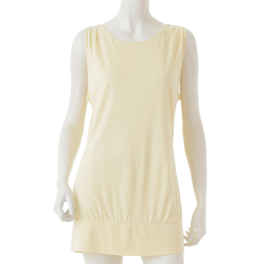 <NEW>Micro Modal Yoga Tank - Light Yellow