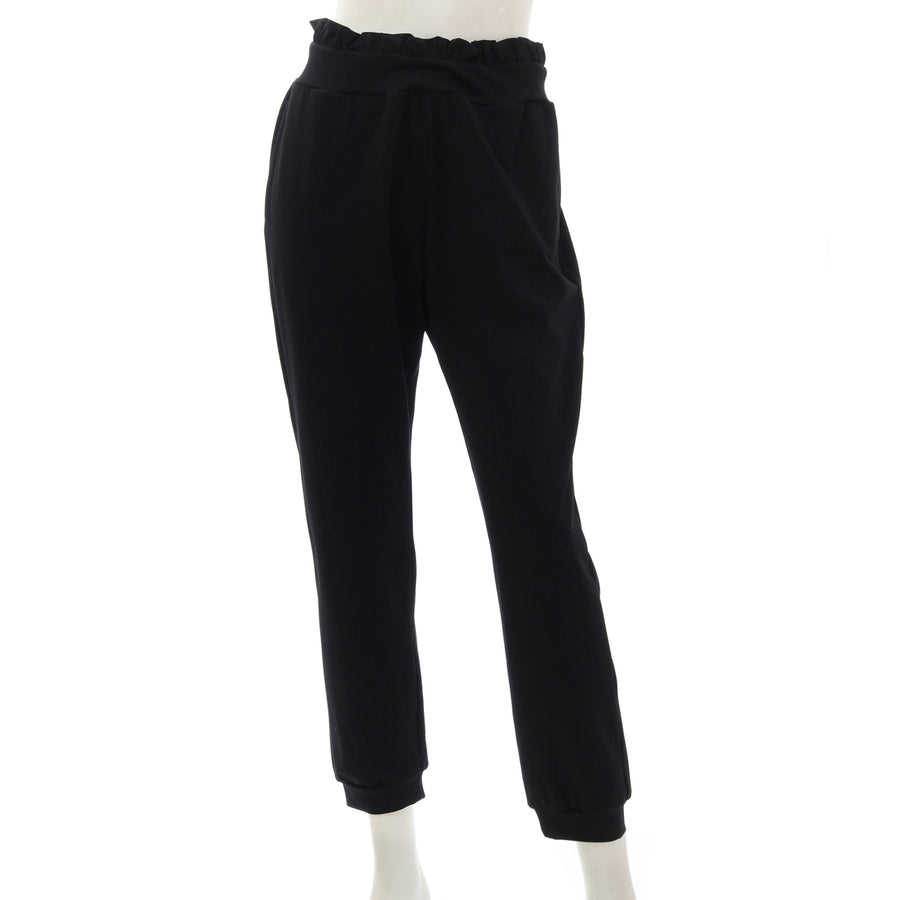 <NEW> Micro Modal Ponte Long Pants - Black